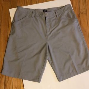 Men's Gray Adidas Golf Shorts